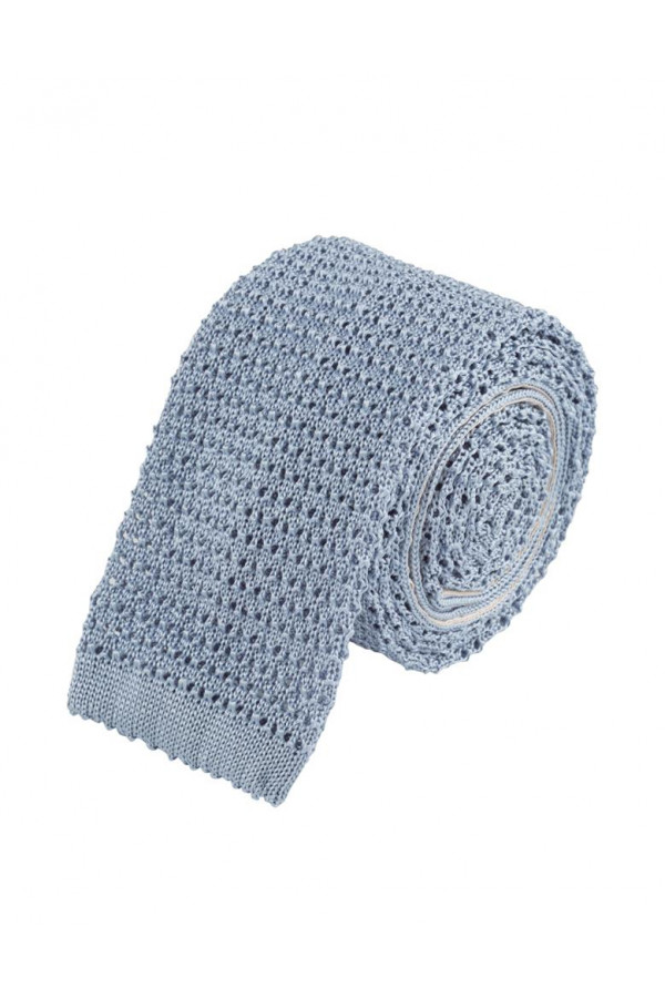 Cravate tricot en soie