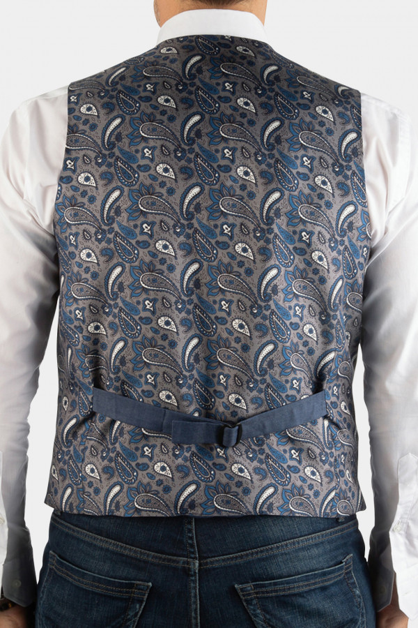 Cotton waistcoat with...