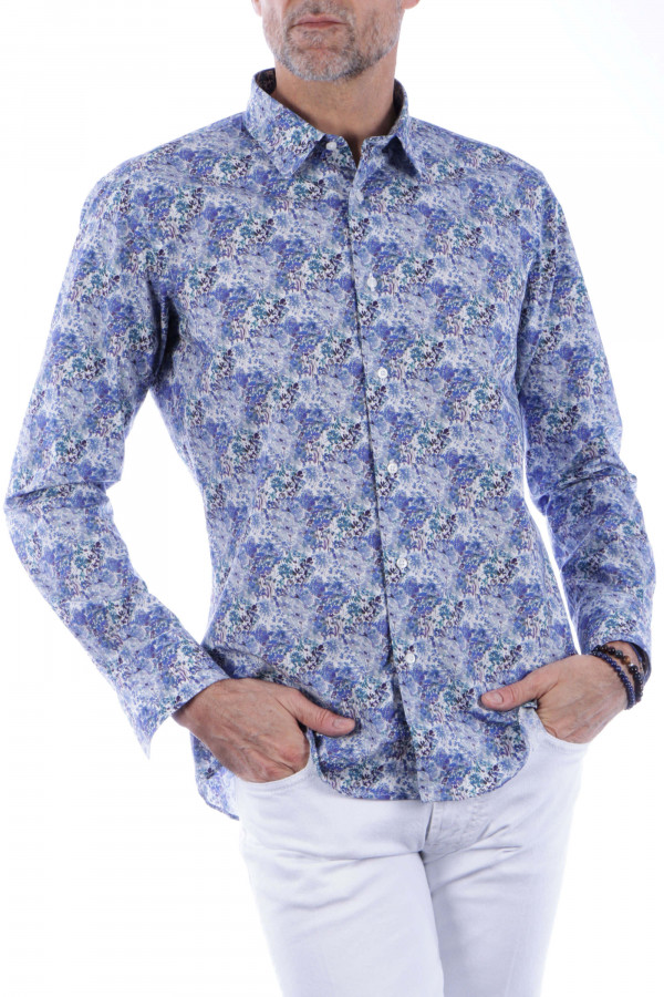 Printed shirt with...