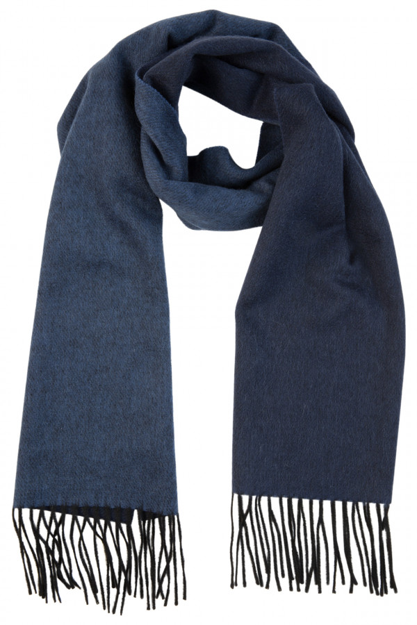 Double-sided cashmere scarf