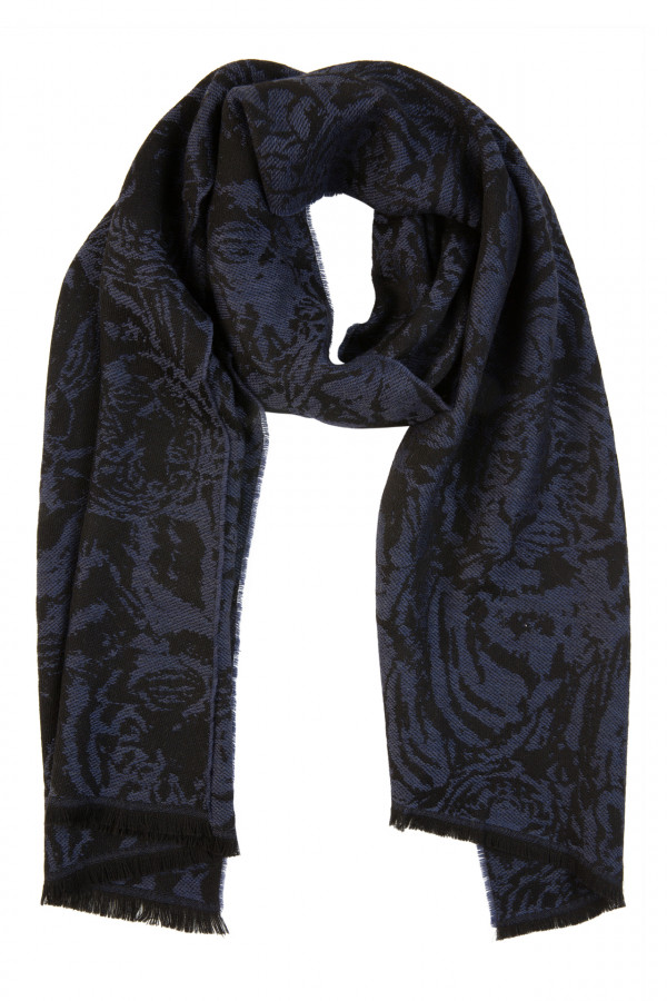 Tiger wool scarf