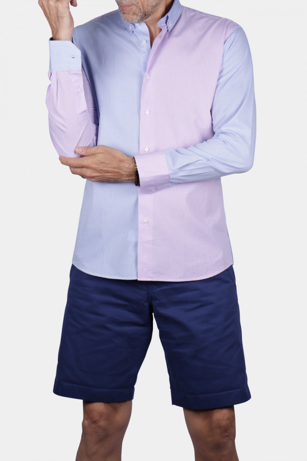 Chemise Patchwork Vichy's